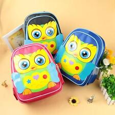 Child Kids Boys Baby Girls Backpack Cartoon Schoolbag Outdoor Toddler Bag P7W8