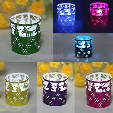 50pcs Tea Light Holders Star Event Decor Hollow Glossy Paper Lampshade 7 Colors