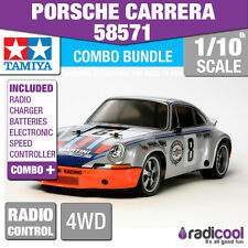 COMBO DEAL! 58571 TAMIYA PORSCHE CARRERA RSR MARTINI TT-02 1/10th RADIO CONTROL