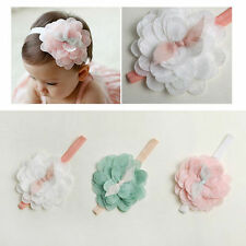 Kids Baby Girl Toddler Cute Lace Flower Hair Band Headband Headwear Accessories