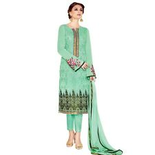 Designer Georgette Embroidered Salwar Kameez Suit Indian Dress-Sim-Royale-747