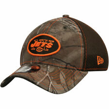 New York Jets New Era Realtree Camo/Olive Green Neo 39THIRTY Flex Hat - NFL