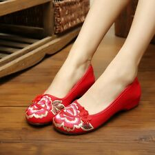 Women Ladies Pumps Flats Slip On Shoes Casual Ballerina Loafers Slippers C
