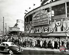 Wrigley Field Chicago Cubs 1945 MLB Photo JZ197 (Select Size)