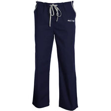 Seattle Seahawks Unisex Solid Scrub Pants - Navy Blue - NFL