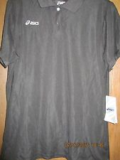ASICS PR0761 TEAM CHS POLO-GOLF,TENNIS,VOLLEYBALL,BOWLING,CYCLING-BLACK