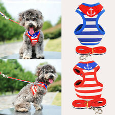 Pet Control Harness for Dog Puppy Cat Soft Walk Collar Safety Strap Mesh Vest UY
