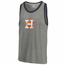 Houston Astros Distressed Team Tank Top - Ash - MLB