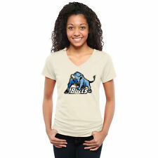 Women's White Buffalo Bulls Classic Wordmark Tri-Blend V-Neck T-Shirt - College