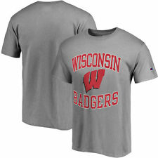 Wisconsin Badgers Champion Tradition T-Shirt - Gray - College