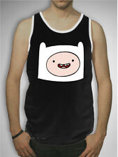 NEW Adventure Time With Finn Boy & Jake Face Tank Top T-Shirt Mens S-XL Licensed