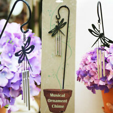 Metal Wind Chimes Windchime Feng Shui Bells Home Office Flower Pot Bonsai Decor