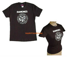 Authentic Ramones SEAL Logo Baby Doll t-shirt Classic Cotton Soft Fine Jersey
