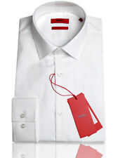 BOSS HUGO Business shirt C-Jenno ( Slim Fit ) white 100% Cotton