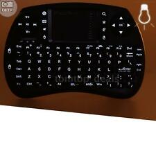 iPazzPort 2.4G Wireless Keyboard with Touchpad Backlit for TV Box PC Pad G7F7