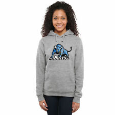 Buffalo Bulls Women's Classic Primary Pullover Hoodie - Ash - College