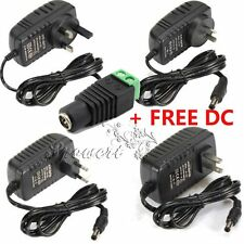 AU UK US EU 2A 24W DC 12V Power Supply Charger Transformer Adapter For LED Strip