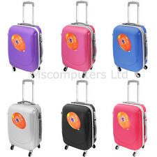 Hard Shell Suitcase Travel Luggage Cabin Trolley Lightweight 4 Wheels With Lock