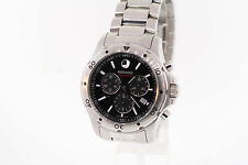 Men's Movado  260076 SERIES 800 Chronograph Stainless Steel Black Dial Watch