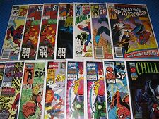 Spider-man Lot of 15 Bronze-Modern Marvel Comics Amazing Foes Spectacular 2099