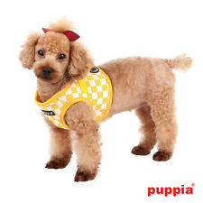 Any Size - PUPPIA - GRAND PRIX - Soft Dog Puppy Harness Vest - Yellow