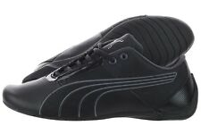Puma Future Cat S1 NM 30570503 Black Asphalt Leather Casual Shoes Medium Men