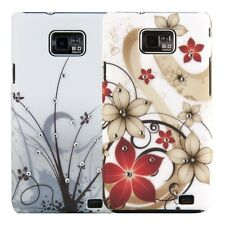 kwmobile LUXURY COVER FOR SAMSUNG GALAXY S2 I9100 DESIRED COLOUR RHINESTONE