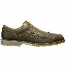 FootJoy Professional Spikeless Golf Shoes - Brown/Yellow 57091 New Closeout Mens