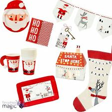 Talking Tables Father Christmas Waiting for Santa Kids Home Party Xmas Eve Set