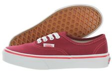 Vans Authentic Pop Check Kids VN0003Y7II0 Rhubard Canvas Lace Shoes Medium Youth