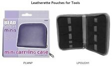 Leatherette Pouches from the BEADSMITH