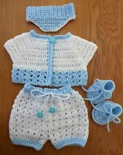 HAND KNITTED BOYS DOLLS CLOTHES - 16/18
