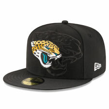 Jacksonville Jaguars New Era Sideline Official 59FIFTY Fitted Hat - Black - NFL