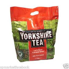 Brand New Taylors of Harrogate Yorkshire Tea Pack of 480 Bags (1.5kg Bag)