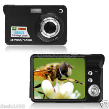"18MP 2.7"" TFT LCD Digital Camera DV 8X Digital Zoom HD Camcorder Video Recoding"