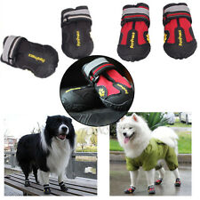 Waterproof Anti Skid Dog Boots For Medium/Large Labrador Husky Shoes Pet Shoes