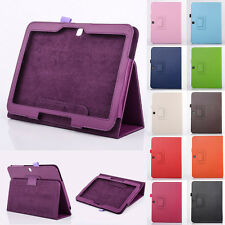 """For Samsung Galaxy Tab 3 10.1"""" GT-P5200 Flip Protective Leather Case Stand Cover"""