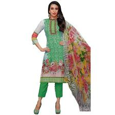 Ready To Wear Ethnic Karachi Printed Cotton Salwar Kameez Suit -Moufiz-016