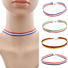 Unisex Fans Jewelry World Cup Game FIFA Soccer Chokers National Flag Necklaces