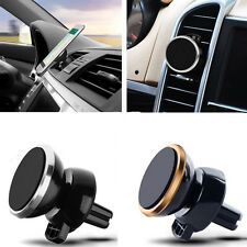 360 Rotating Car Magnetic Air Vent Mount Holder Stand for Mobile Cell Phone