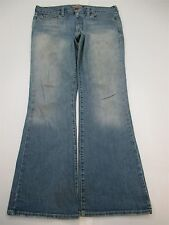*ABERCROMBIE & FITCH* Women's Size 12R LIGHT WASH STRETCH BOOT CUT BLUE Jeans