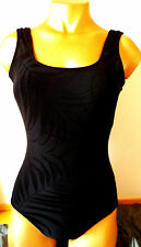 Beautiful Quality Textured ladies Swimsuit Size 12 By Atmsophere - New