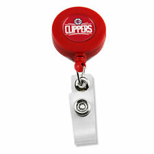 NBA Retractable Badge Reel Id Ticket Clip