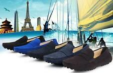 New Fashion Mens casual Moccasin Loafer slip on Driving suede boats Shoes W4567
