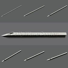 100pcs Stainless Steel Sterile Needles For Navel Ear Nose Navel Body Piercing