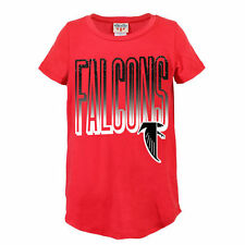 Atlanta Falcons Junk Food Girls Youth Game Time T-Shirt - Red - NFL