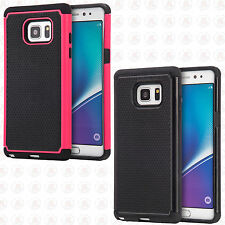 For Samsung Galaxy Note 7 Rubber IMPACT TRI HYBRID Case Skin Phone Cover