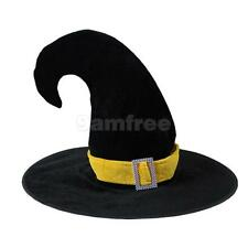 44 * 39cm Satin-Soft Halloween Costume Sale witch Hat for Party Fancy Dress