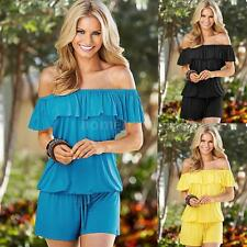 Sexy Women Jumpsuit Bodycon Party Playsuit Trousers Loose Clubwear Romper A8J7