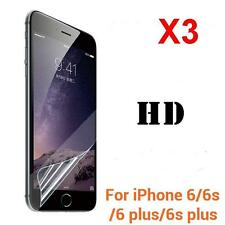3X Ultra Clear Front or Back HD Screen Saver Protector Film for iPhone 6 6s Plus